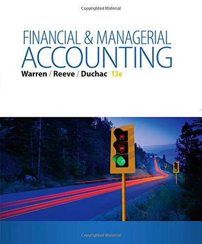 book Financial & Managerial Accounting