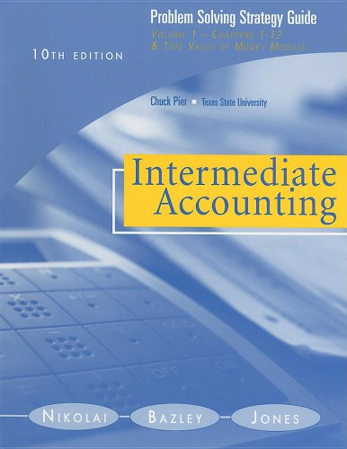 intermediate accounting problem 13 13
