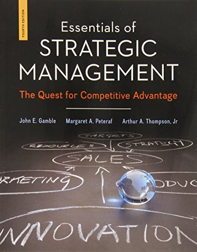 book Essentials of Strategic Management: The Quest for Competitive Advantage