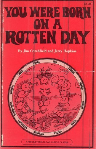 book You Were Born on a Rotten Day (An Unoffical Horoscope)