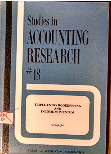 book Triple-Entry Bookkeeping and Income Momentum (Studies in Accounting Research)