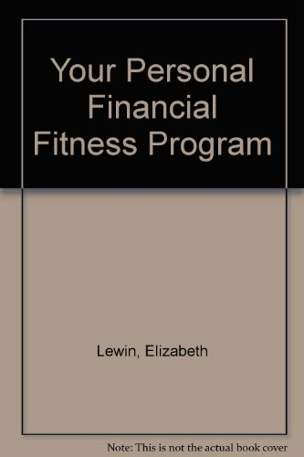 book Your Personal Financial Fitness Program 1995-1996