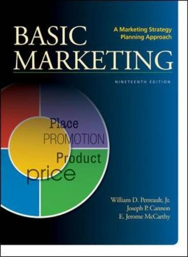 book BASIC MARKETING: A Marketing Strategy Planning Approach