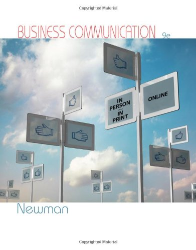book Business Communication: In Person, In Print, Online