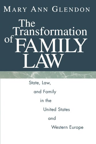 book The Transformation of Family Law: State, Law, and Family in the United States and Western Europe