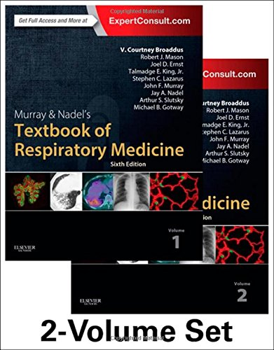 book Murray & Nadel\'s Textbook of Respiratory Medicine, 2-Volume Set, 6e (Textbook of Respiratory Medicine (Murray))