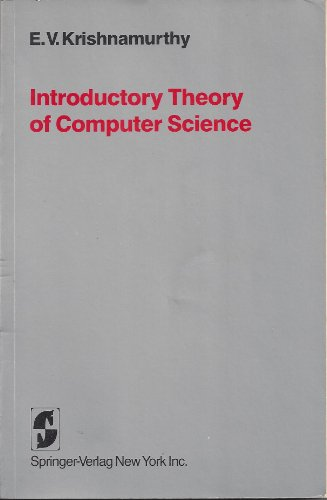 book Introductory Theory of Computer Science
