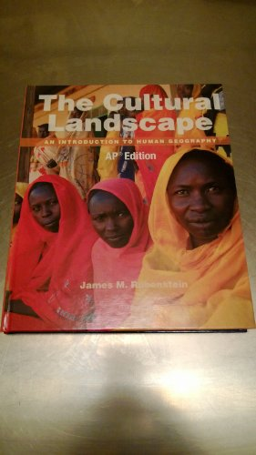 book The Cultural Landscape An Introduction to Human Geography AP Edition