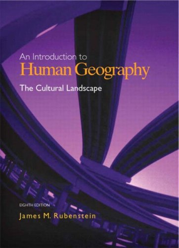 book The Cultural Landscape: An Introduction to Human Geography (8th Edition)
