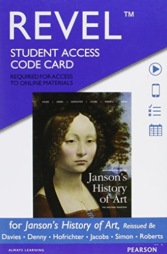 book REVEL for Janson\'s History of Art, Reissued Edition --  Access Card (8th Edition)