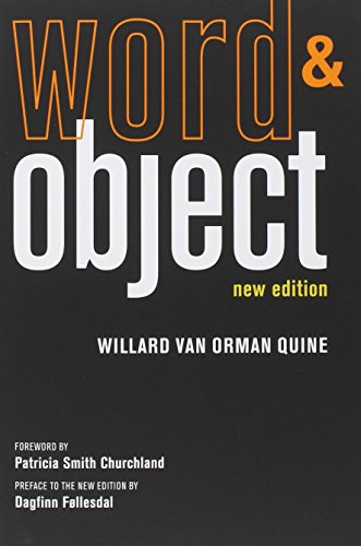 book Word and Object