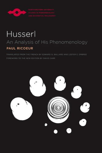 book Husserl: An Analysis of His Phenomenology (Studies in Phenomenology and Existential Philosophy)