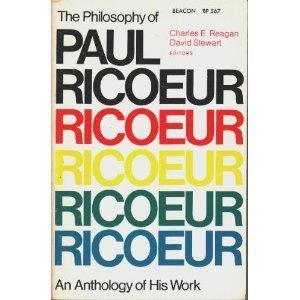 book The Philosophy of Paul Ricoeur: An Anthology of His Work by Paul Ricoeur (1997) Paperback