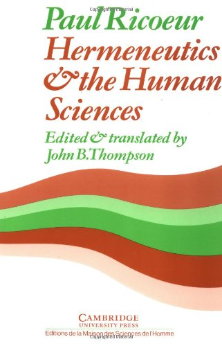 book Hermeneutics and the Human Sciences: Essays on Language, Action and Interpretation
