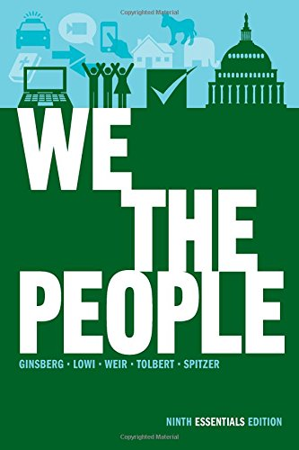 book We the People: An Introduction to American Politics (Ninth Essentials Edition)