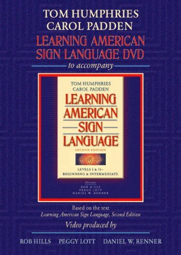 book Learning American Sign Language DVD to accompany Learning American Sign Language - Levels 1 & 2 Beginning and Intermediate, 2nd Edition