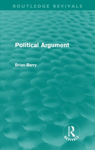 book Political Argument (Routledge Revivals)