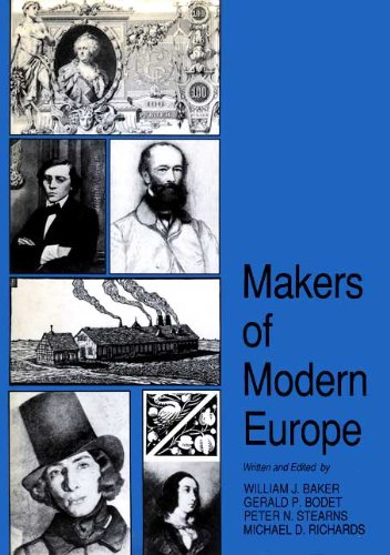book Makers of Modern Europe