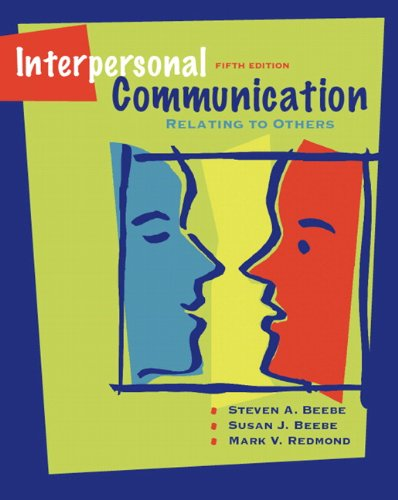 book Interpersonal Communication: Relating to Others (5th Edition)