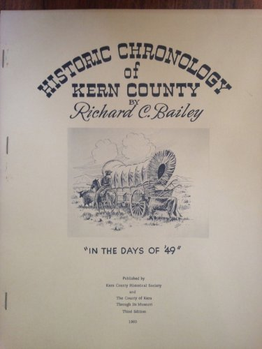 book Historic chronology of Kern County