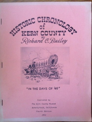book Historic chronology of Kern County. \