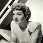 Claudette Colbert - First wife of Norman Foster