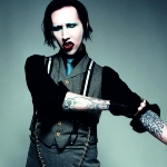 Marilyn Manson - colleague of Rob Halford