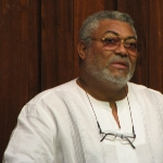 Jerry John Rawlings - friend of Daniel Annan
