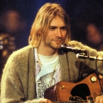 Kurt Cobain - colleague of Dave Grohl