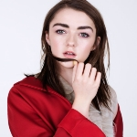 Maisie Williams - colleague of Conleth Hill