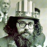 Allen Ginsberg - colleague of Helen Adam