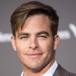 Chris Pine - colleague of Rachel Brosnahan