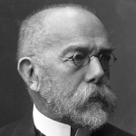 Robert Koch - colleague of Louis Pasteur