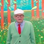 David Hockney - Friend of Patrick Caulfield