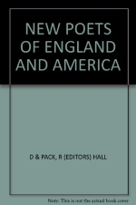 New Poets of England and America