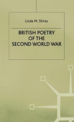 [(British Poetry of the Second World War)] [Author: Linda M. Shires] published on (June, 1985)