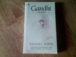 Gandhi: A Memoir by William L. Shirer (1982) Paperback