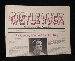 CASTLE ROCK: THE STEPHEN KING NEWSLETTER February 1988   , Vol. 4, No. 2, Includes Articles  the Running Man & Stephen King, Not a Bad Film, ETC. Castle Rock Was Published in Bangor Maine, From 1985 to 1989, and it Was the Only Official Stephen King Newsl