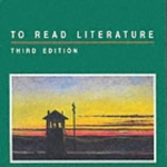 To Read Literature by Hall,Donald. [1992,3rd Edition.] Paperback
