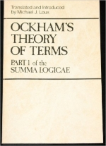 Ockham's Theory of Terms: Part 1 of the Summa Logicae