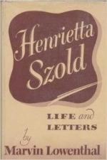 Henrietta Szold : Life and Letters