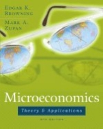 Microeconomics : Theory and Application 9TH EDITION