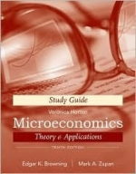 Microeconomic Theory & Applications, Study Guide 10th (tenth) edition Text Only
