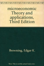 microeconomic Theory and applications, Third Edition