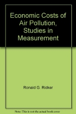 Economic Costs of Air Pollution, Studies in Measurement