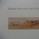 Edward Lear and the Art of Travel (Yale Center for British Art)