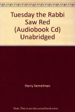 Tuesday the Rabbi Saw Red (Audiobook Cd) Unabridged